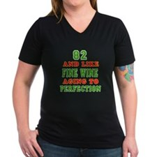 Funny 82 And Like Fine Wine Birthday Shirt