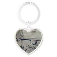 Tom Swift endpapers Heart Keychain