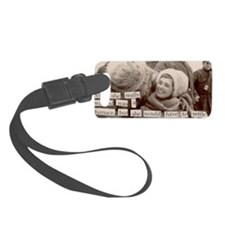 winterhat Luggage Tag