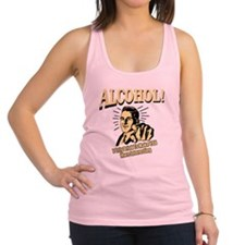 alcohol_complete Racerback Tank Top