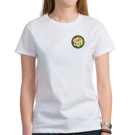 Ally Pocket Baubles -LGBT- Women's T-Shirt