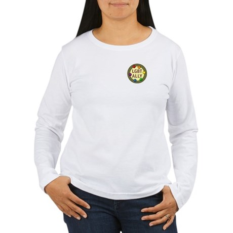 Ally Pocket Baubles -LGBT- Women's Long Sleeve T-S