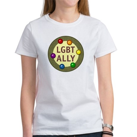 Ally Baubles -LGBT- Women's T-Shirt