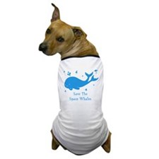 space whale2 Dog T-Shirt