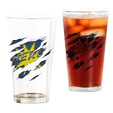 shirtgraph1 Drinking Glass