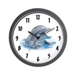 Happy Dolphin Wall Clock