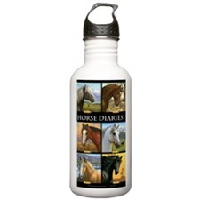 HORSE DIARIES JOURNAL Water Bottle