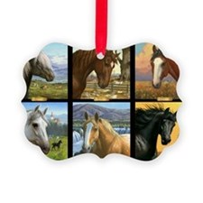 HORSE DIARIES POSTER Ornament