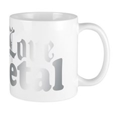 Love Metal Small Mug