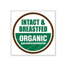 "ani-organic Square Sticker 3"" x 3"""
