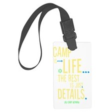 Camp-Is-Life_reverse Luggage Tag