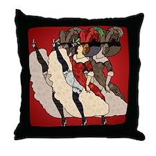 OuiOuiOuiMouse2 Throw Pillow
