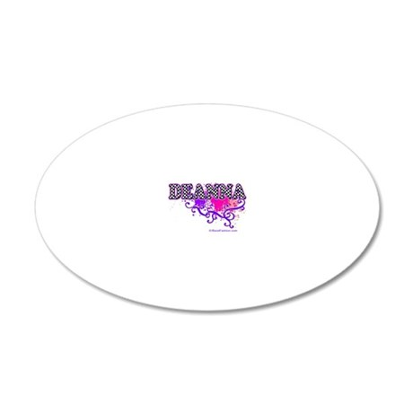 DEANNA 20x12 Oval Wall Decal