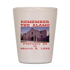 blk_Remember_The_Alamo_001 Shot Glass