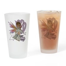 SFA_Virgo_3x3_teddybear Drinking Glass