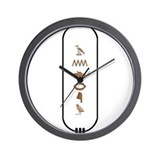 "Andrew in Hieroglyphics ""Colo Wall Clock"