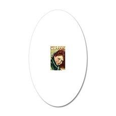 Clara Bow 1929 20x12 Oval Wall Decal