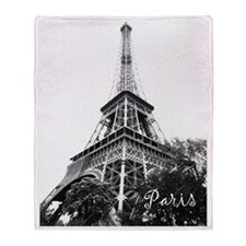 eiffel tower 2 copy Throw Blanket