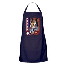 July_4_Firecracker_Sheltie Apron (dark)