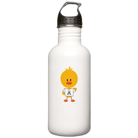 AsthmaAwarenessRibbonC Stainless Water Bottle 1.0L