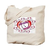 Softball True Love Tote Bag