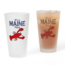 Its a Maine Thing Lobster Drinking Glass