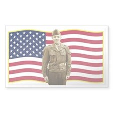 AmericanFlagwaving1 Decal