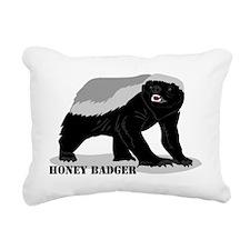 honeybadger_design2 Rectangular Canvas Pillow