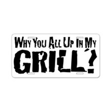 UpInMyGrill Aluminum License Plate