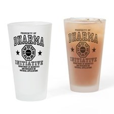 Prop Dharma BBtn Drinking Glass