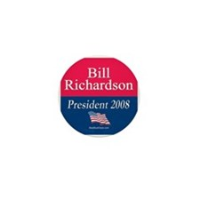 """Bill Richardson for President"" Mini Button (10)"