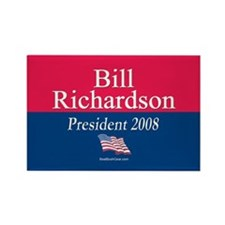 """Bill Richardson 2008"" Rectangle Magnet (100)"