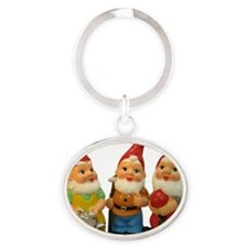 Gnome-_25 Oval Keychain