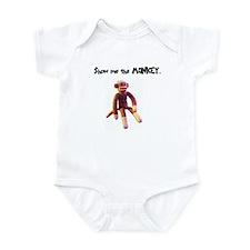 Sock Monkey Items Infant Bodysuit