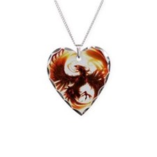 2-Phoenix spiral Necklace