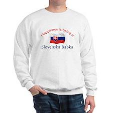 Happy Slovenska Babka Sweatshirt