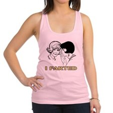 I_Farted Racerback Tank Top