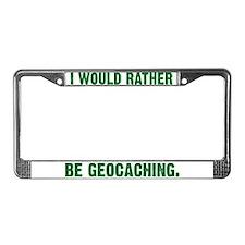 Geocash License Plate Frame