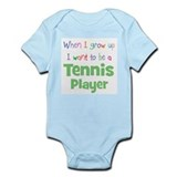 When I Grow Up Tennis Onesie