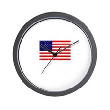 American-Tea-Party-(flag)-dark-shirt Wall Clock