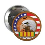 Masonic Vietnam Veteran Button