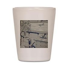 Tom Swift Junior lab Shot Glass