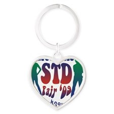 greendale_std Heart Keychain