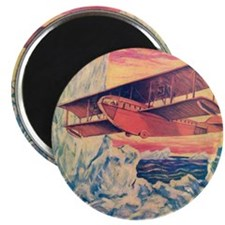 Flying Boat Magnet