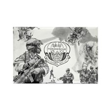 Pararescue Rectangle Magnet
