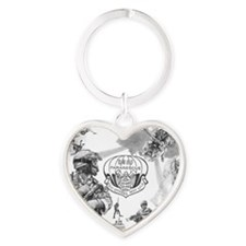 Pararescue Heart Keychain