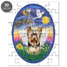 Twilight - Yorkshire Terrier Angel (17) Puzzle