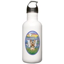Lilies - Yorkshire Ter Water Bottle