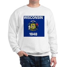 wisconsin 2 Sweatshirt
