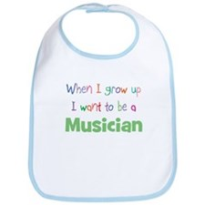 When I Grow Up Musician Bib